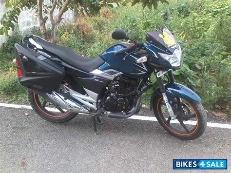 Blue Suzuki Gs 150r Picture 3. Album Id Is 114581. Bike
