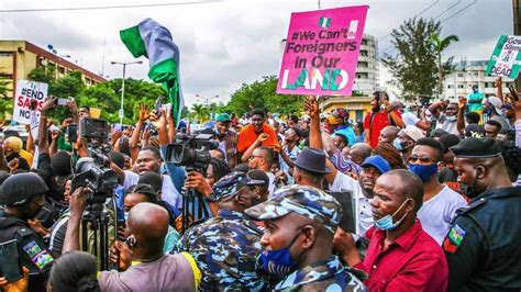 #EndSARS: Protest against Police Brutality Continues ...