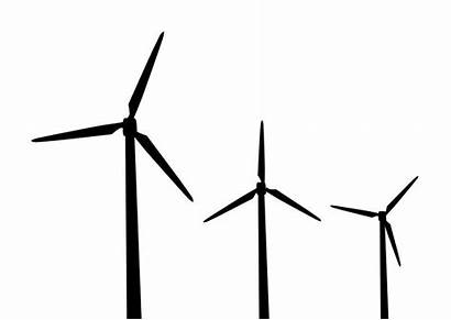 Windmills Windmill Silhouettes Silhouette Outline Wind Mills