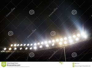 Stadium lights floodlights cartoon vector