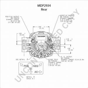 Delco Remy Alternator Wiring Schematic