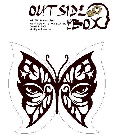 woodworking butterfly pattern bikal