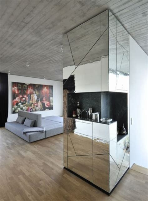Trend Alarm?: Ayna Kaplama Duvarlar   Ev Dekorasyon Blog