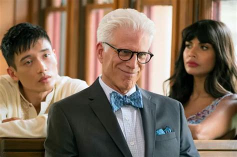 What 'the Good Place' Has Taught Us About Philosophy And Kitchen Dining Table With Bench Bar Height Lazy Susan Vanity Set Ikea Target Card And Chairs Designer Linen Setting For 2 Sets Clearance