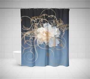 Unique Bathroom Shower Curtains - Custom Shower Curtains ...