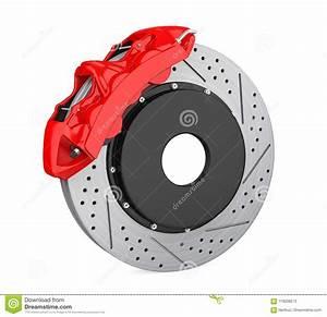 Meilleur Disque De Frein Voiture : disque de frein de voiture et calibre rouge d 39 isolement illustration stock illustration du ~ Maxctalentgroup.com Avis de Voitures