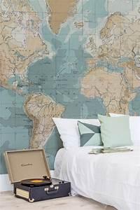 Tapete Weltkarte Kinderzimmer : die 25 besten ideen zu wandtattoo weltkarte auf pinterest b rowandtattoo art deco zimmer und ~ Sanjose-hotels-ca.com Haus und Dekorationen