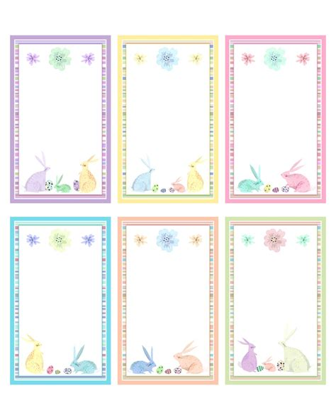 Easter Name Tags Template by Free Easter And Printables Pack The Cottage