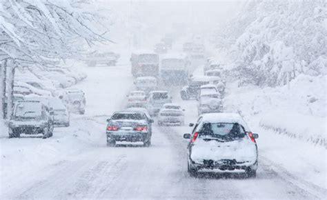 drivers  prepared  winter weather survey