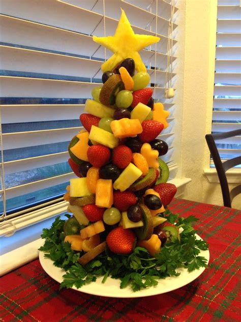 fruit tree centerpiece holiday baking pinterest