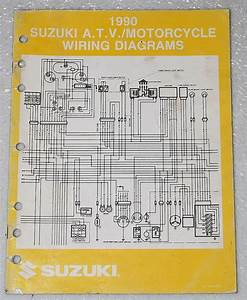 1990 Suzuki Motorcycle And Atv Electrical Wiring Diagrams