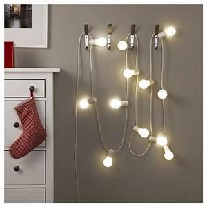 Ikea Guirlande Lumineuse : clairage de no l doux quelques id es originales pour une ambiance propice de magie ~ Preciouscoupons.com Idées de Décoration