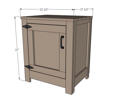 nightstand woodworking plans woodshop plans