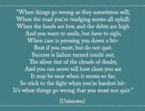 dont quit    wrong