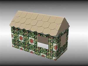 Cabane En Carton À Colorier : 4 mani res de construire une cabane pour enfants ~ Melissatoandfro.com Idées de Décoration