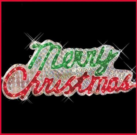 merry christmas lighted sign large merry christmas sign holographic46 quot 100 lights indoor