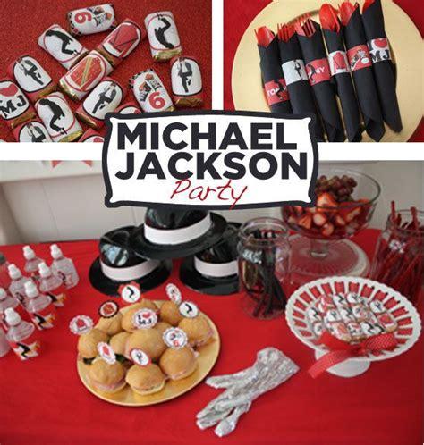 Michael Birthday Decorations - michael jackson on birthday
