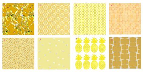 papier peint jaune vintage inspiration du blog