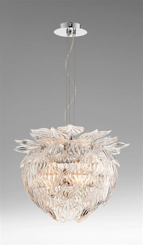 lotus flower pendant light moss manor a design house