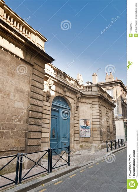 musee des arts decoratifs at bordeaux royalty free