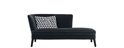 leather chaise lounge chaise longue febo maxalto design by antonio citterio