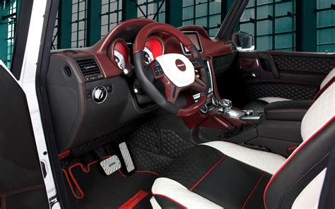 customized g wagon interior german tuner mansory bringing custom mercedes benz g class