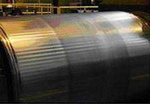 Chatter Marks On Backup Rolls Of The Sheet Mill In The