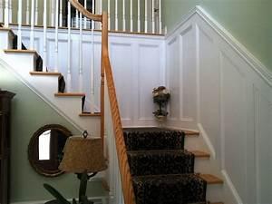 Paneling, Along, Staircase, Walls, Northford, Ct