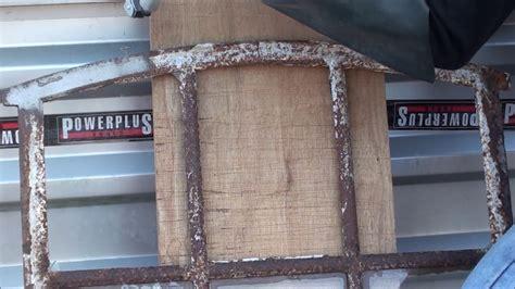 alu rost entfernen hartn 228 ckigen rost entfernen mit einem sandstrahlkessel und alu silikat powerplustools