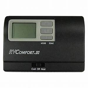 Coleman Mach 8330d3311 Digital Wall Thermostat 4 Single