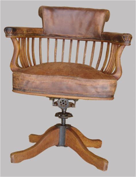 cuir pour bureau ancien fauteuil de bureau ancien pivotant bois assise ety dossier