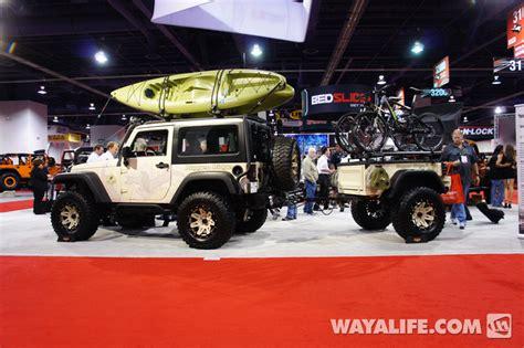 tan jeep wrangler 2 door 2012 sema rugged ridge tan 2 door jeep jk wrangler