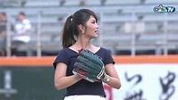 08/15 兄弟 vs 統一 賽前,卓君澤主播和西武獅吉祥物Leo為比賽開出精采好球 - YouTube