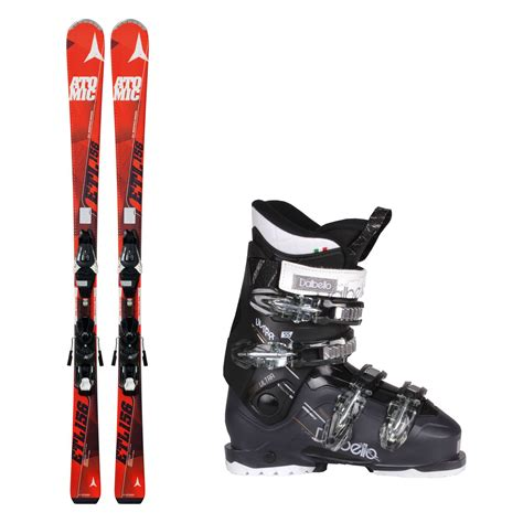 Sports Ski Boots by Atomic Etl Plus Skis Dalbello Ultra 55 Ski Boots Complete