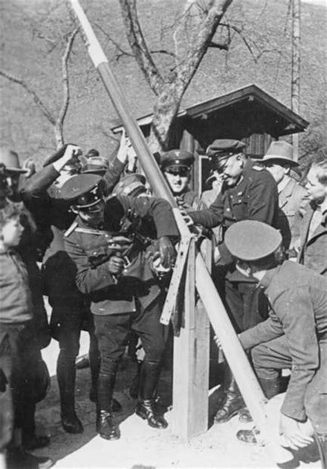 Le Anschliessen So Funktionierts by 1938 Quot Anschluss Quot L Annessione Dell Austria Alla