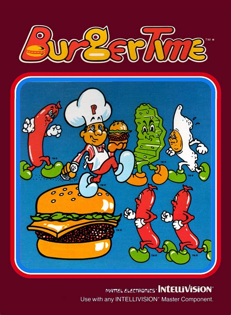 Burgertime Game Giant Bomb
