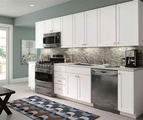 birch shaker kitchen cabinets cabinets prefab granite depot 4638