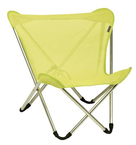 chaise pliante lafuma lafuma c chaise pliante micro pop up avec batyline 20