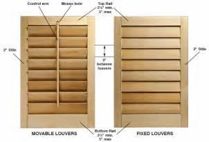 Wooden Shutters Interior Home Depot Diy Interior Window Shutter Plans Woodideas