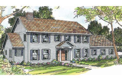 Colonial House Plans  Kearney 30062  Associated Designs
