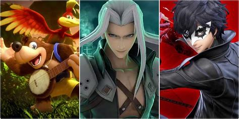 Super Smash Bros. Ultimate: Ranking Every DLC Character
