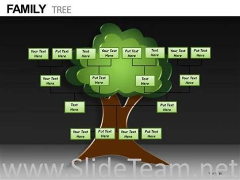 family tree  template cpanjinfo