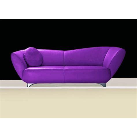 canapé cuir violet canapé cuir ou tissu mino 2 2 5 ou 3 places violet