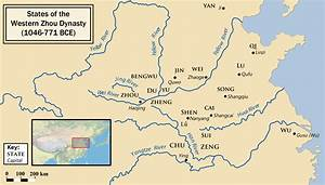 Map of Western Zhou (Illustration) - Ancient History ...