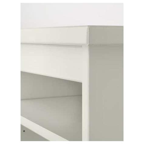 Ikea Hemnes Scrivania by Hemnes Elemento Supplementare Scrivania Mordente Bianco