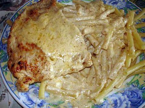 recette d 39 escalope sauce au boursin cuisine ail et fines
