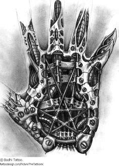 Steampunk Gears Tattoo Clock Designs