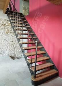 Escalier Fer Et Bois : les 25 meilleures id es de la cat gorie escalier en fer ~ Dailycaller-alerts.com Idées de Décoration