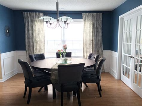 inspirational blue dining room ideas