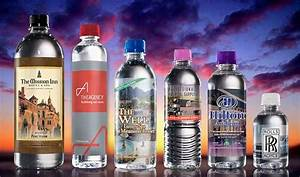 custom bottled water wholesale prices customwatercom With bottled water custom label wholesale